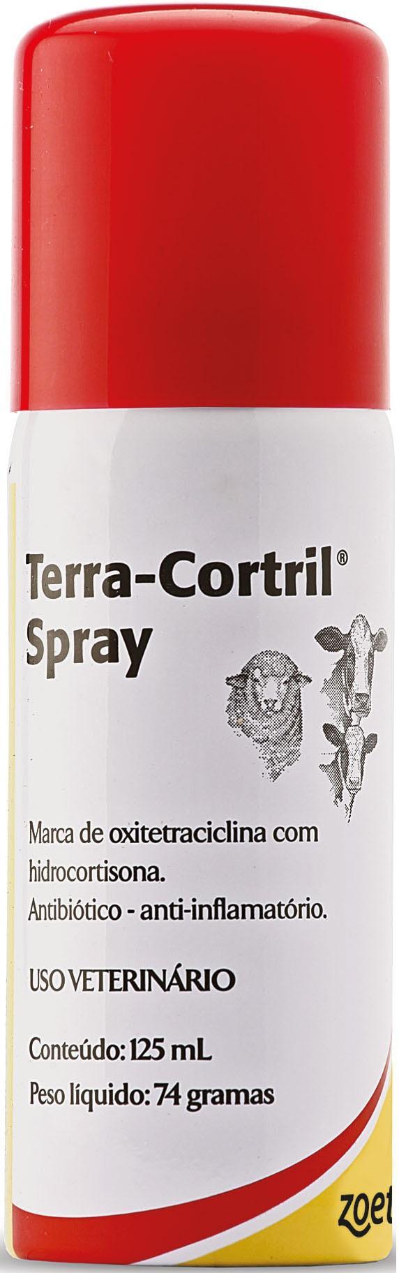 TERRA-CORTRIL SPRAY 125ML