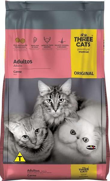 THREE CATS ORIGINAL ADULTOS 10,1KG