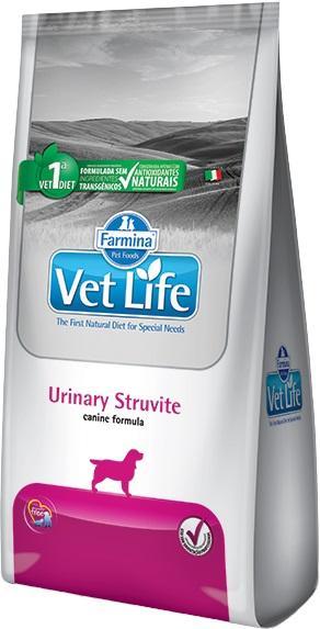 VET LIFE CANINE URINARY STRUVITE 2KG