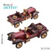 Carro decorativo de madeira 29x10x11cm