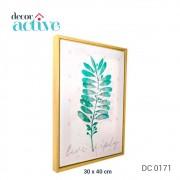 Quadro em canvas live 30x40 cm