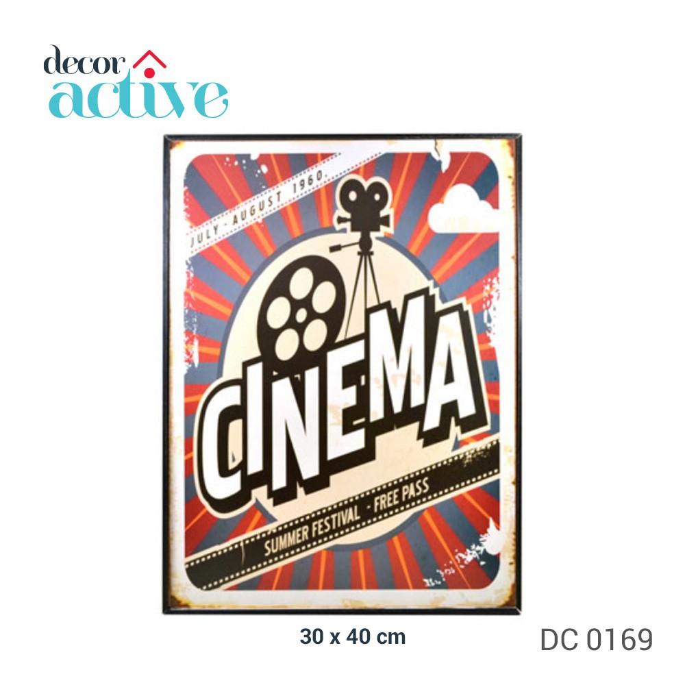 Quadro cinema decor 30x40cm