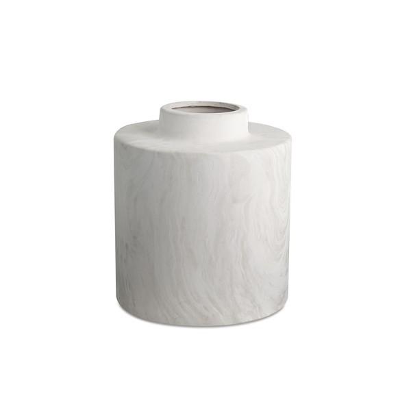 Vaso marmore em ceramica 16cm