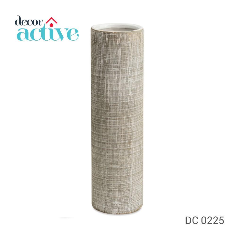 Vaso OFF WHITE cerâmica 22,5cm