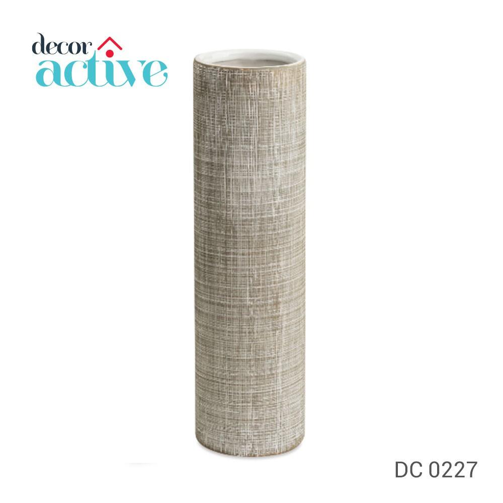 Vaso OFF WHITE em cerâmica 27,5cm