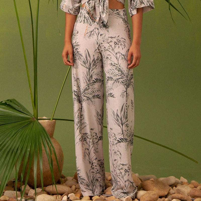 Calça Pantalona Suelen Amazônia