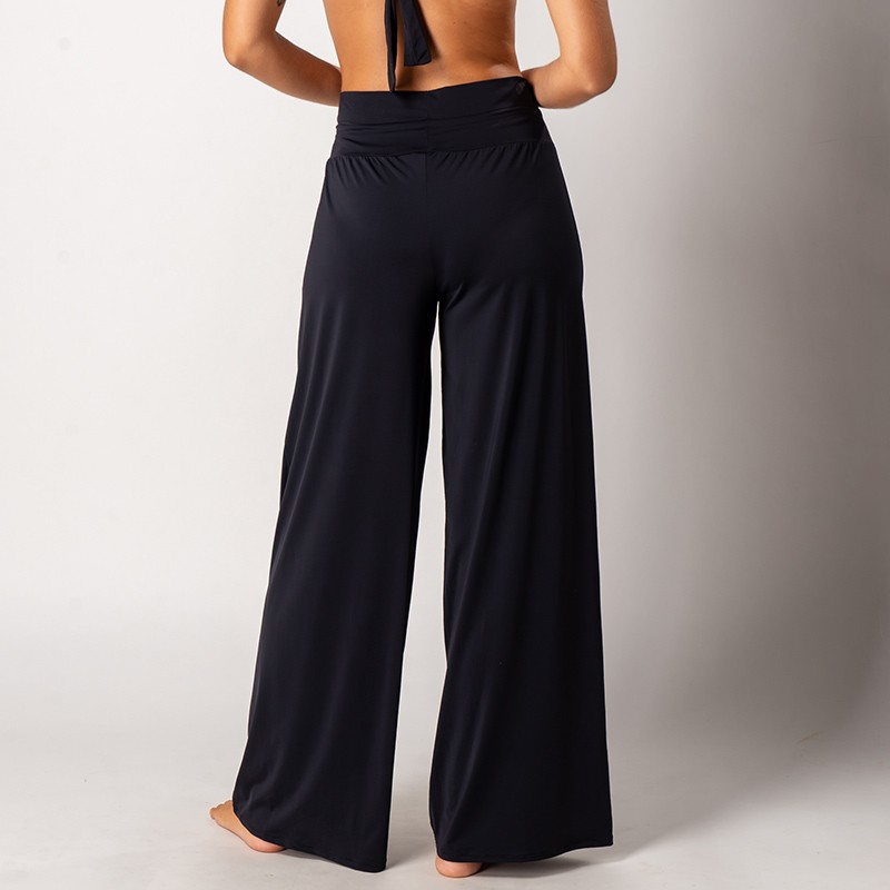 Calça Pantalona Suelen Preta