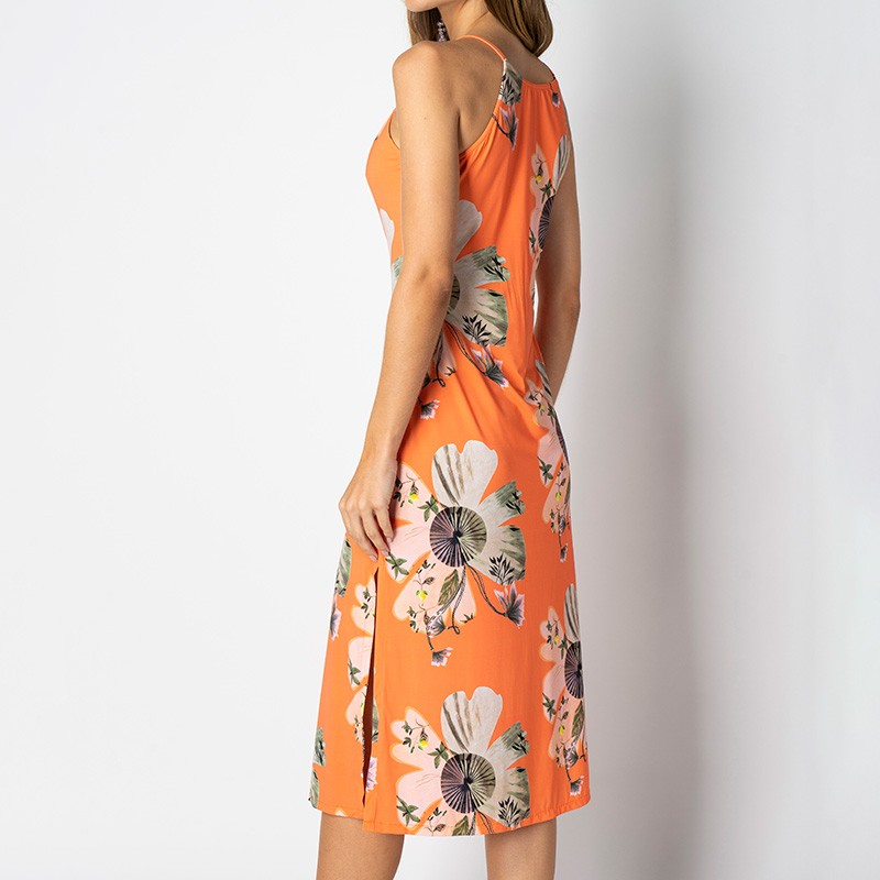 Vestido Isabel Leque