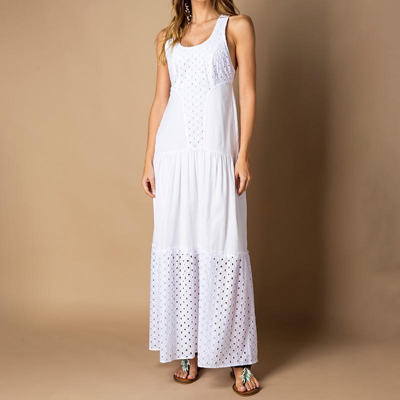 Vestido Júlia Branco