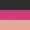 Preto / Pink Forte / Rosa Light