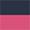Azul Marinho / Pink Flambé
