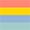 Coral / Yellow / Azul Claro / Verde Claro