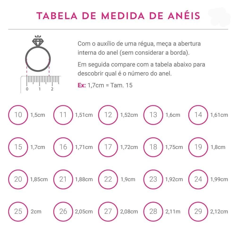 Anel Fusion Esmeralda Colombiana Zircônia Branca Retangular