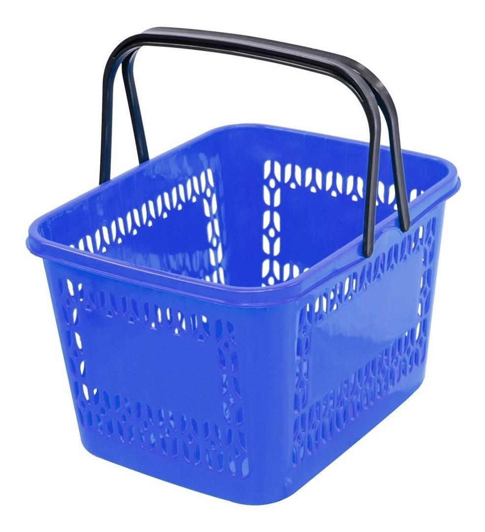 Cestos Reforçados Compras P/ Supermercados E Lojas