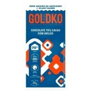 Chocolate GoldKo 70% com avelã (20g)