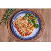 Lasanha de frango fit + Mix de legumes (310g)