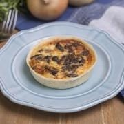 Quiche sem glúten e sem lactose: Funghi (130g)