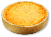 Quiche tradicional: Queijo (130g)