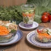 Salada pequena + molho de ervas (90g)