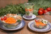 Salada verde pequena + molho ervas (90g)
