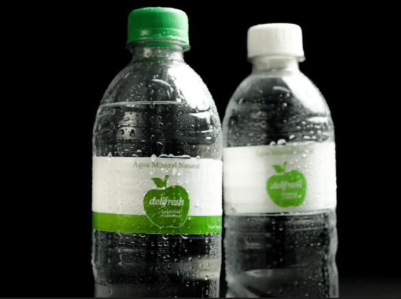 Água DELIFRESH com gás