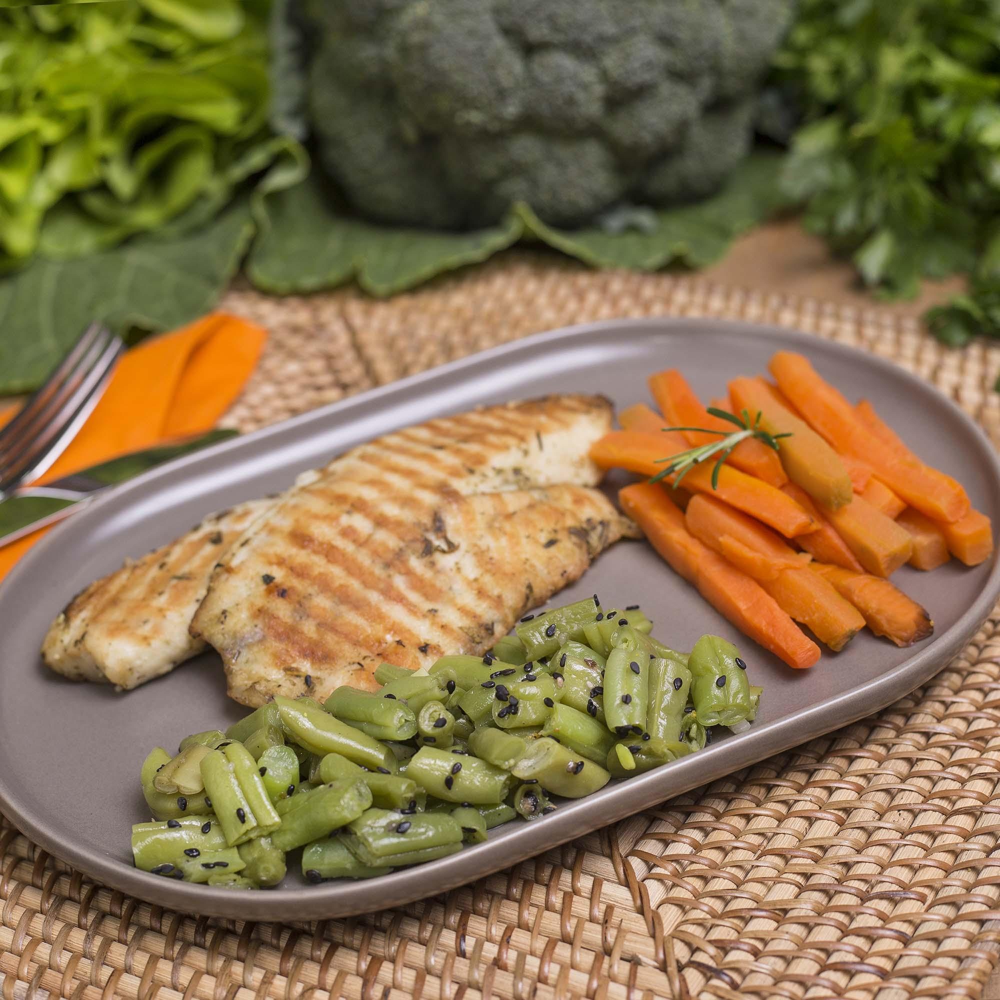Almoço e Jantar LowCarb - 1 Semana