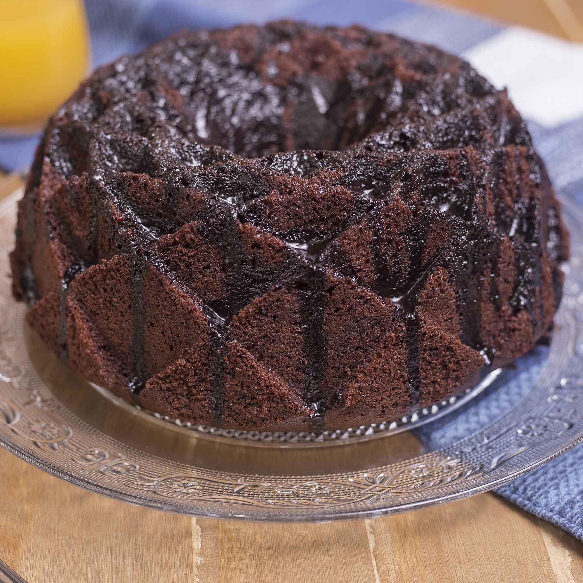 Bolo de Chocolate com Amêndoas (1.850gr)