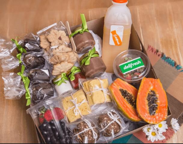 Box café da manhã saudável - Para 2 pessoas