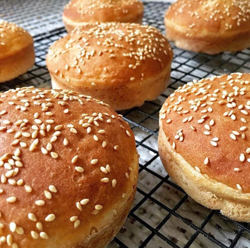 Pão de Hambúrguer (100g)