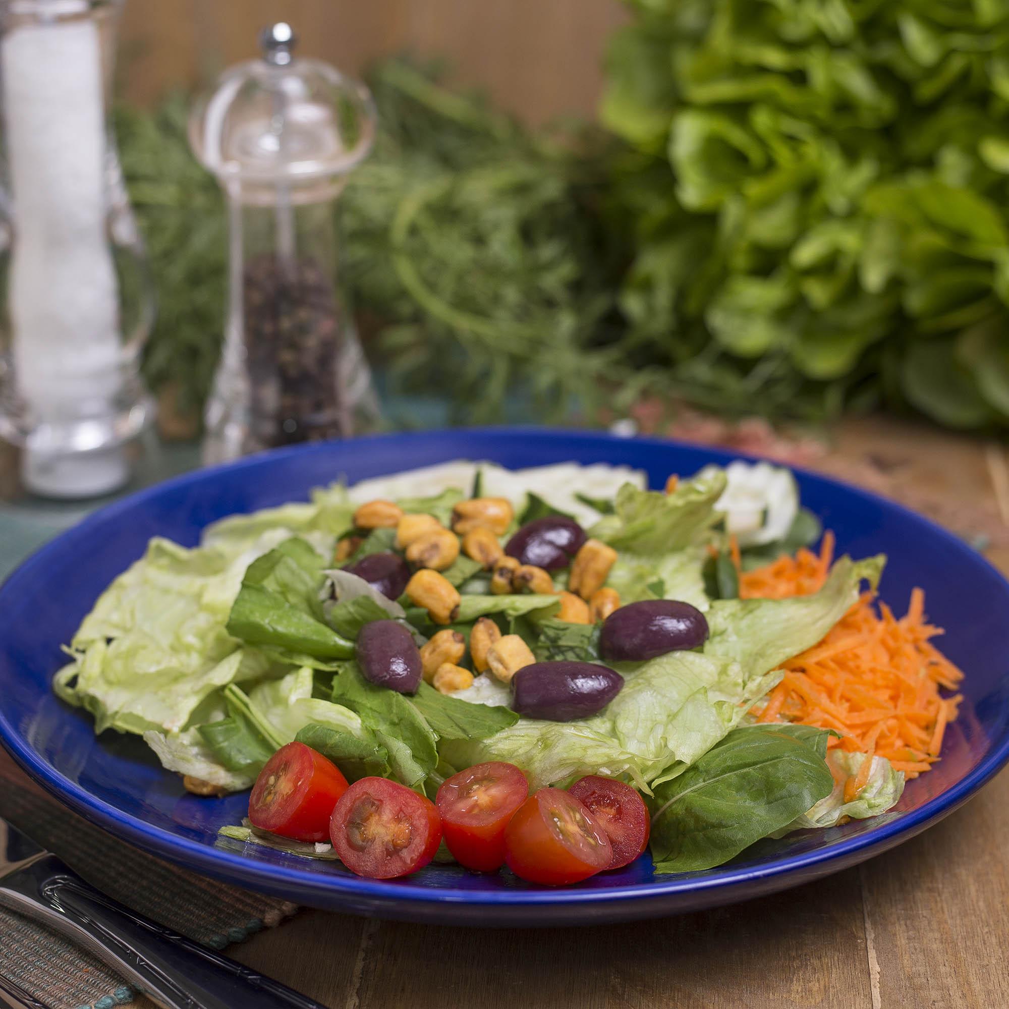 Salada Copo Delifresh + molho italiano (160g)