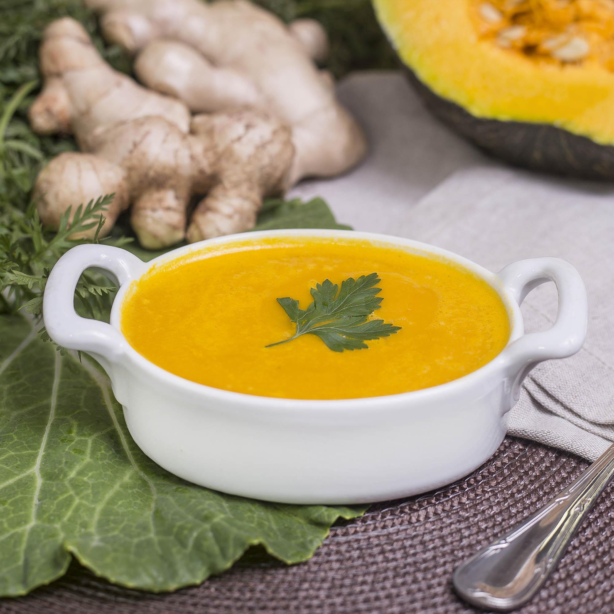 Sopa creme abóbora com gengibre (400ml)