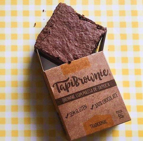 Tapibrownie - brownie sem glúten (55g)