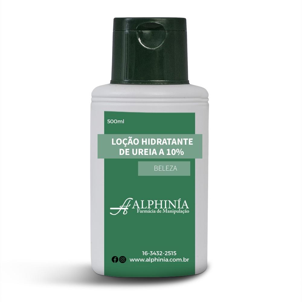 LOÇÃO HIDRATANTE DE URÉIA A 10%
