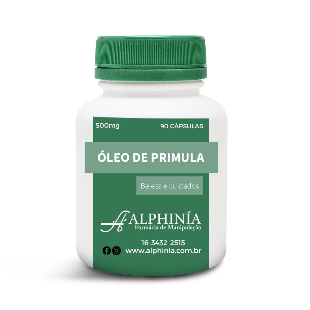 OLEO DE PRÍMULA 500mg