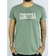 Camiseta Masculina Coritiba Verde Estonado
