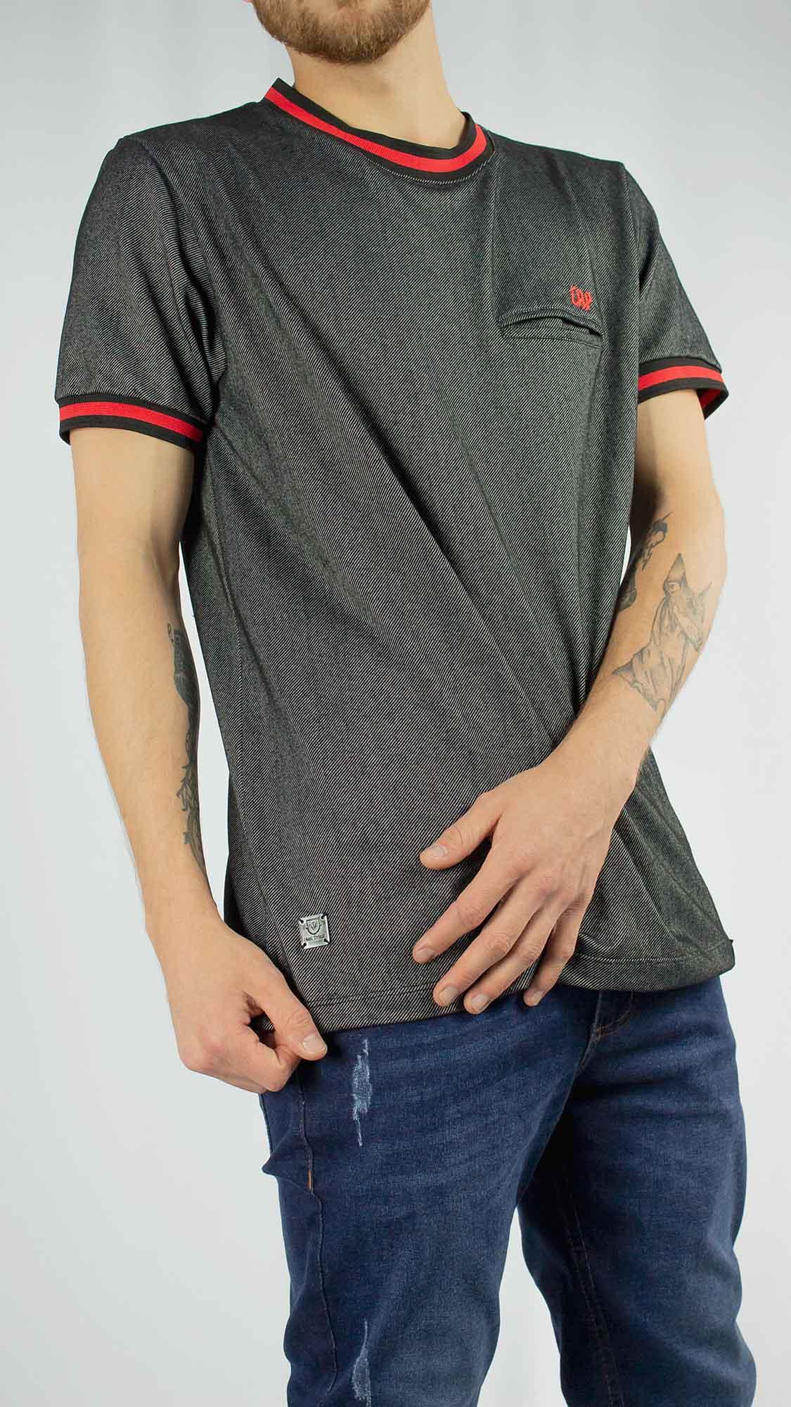 Camiseta Malha Jeans Athletico