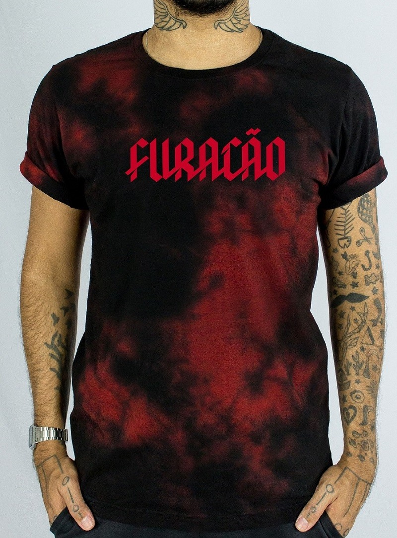 Camiseta Tie-Dye Athletico FURACÃO