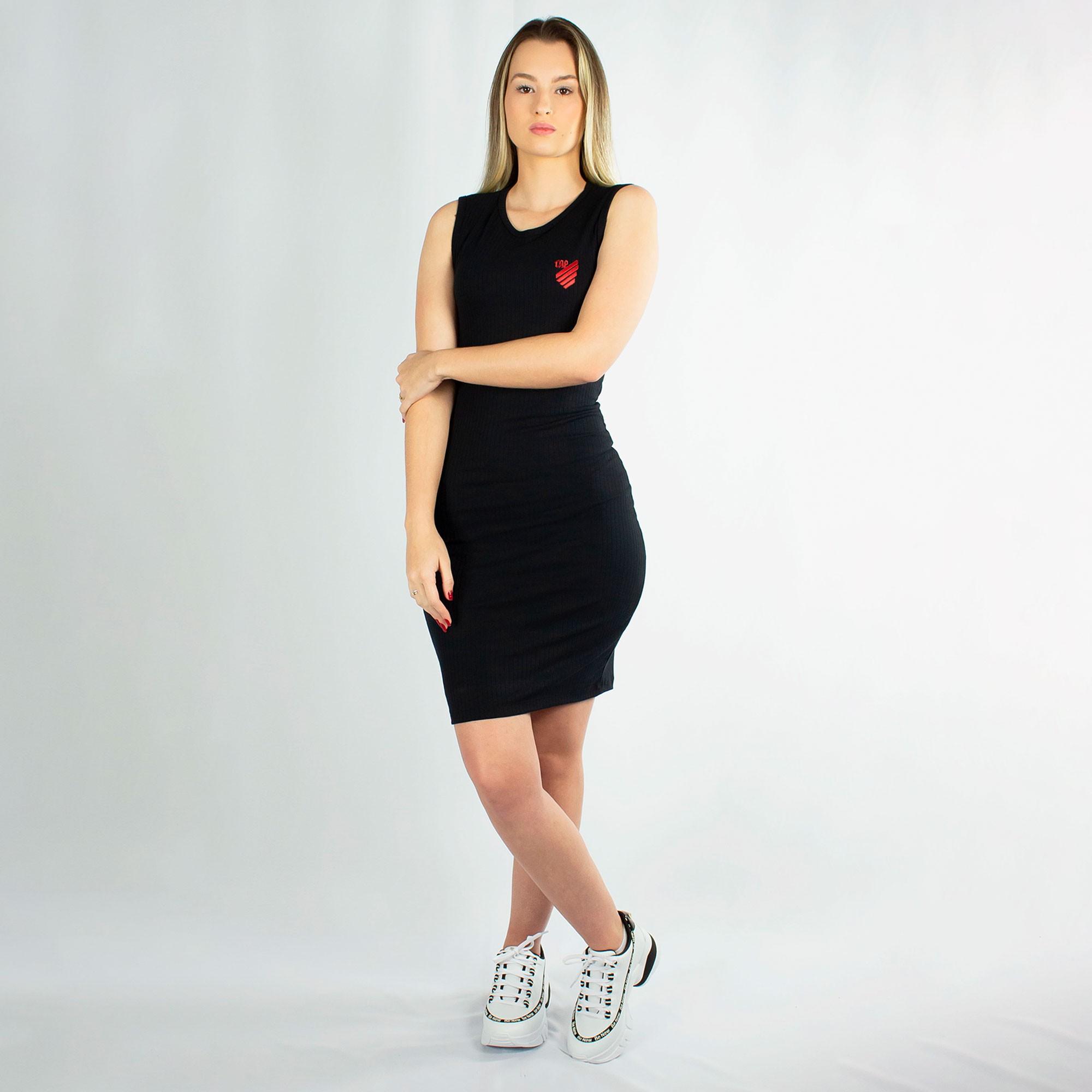 Vestido Midi Cavado Athletico