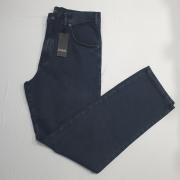 Calça Jeans Clássica Cintura Alta Tradicional Pierre Cardin 100% Algodão