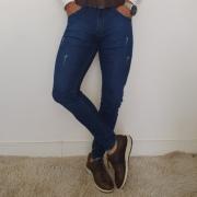 Calça Jeans Skinny Zikani - Azul Índigo