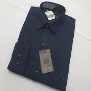 Camisa De Sarja Dois Bolsos Algodão Pelitizado - Mount Vernon