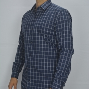 Camisa Manga Longa Slim Fit Executivo - Mount Vernon