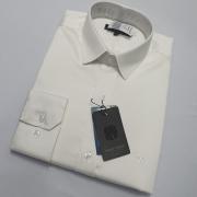 Camisa Slim Fit Em Algodão Fio 80 Pelitizado - Mount Vernon