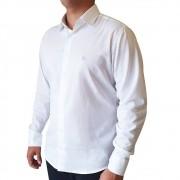 Camisa social ML em algodão texturizada