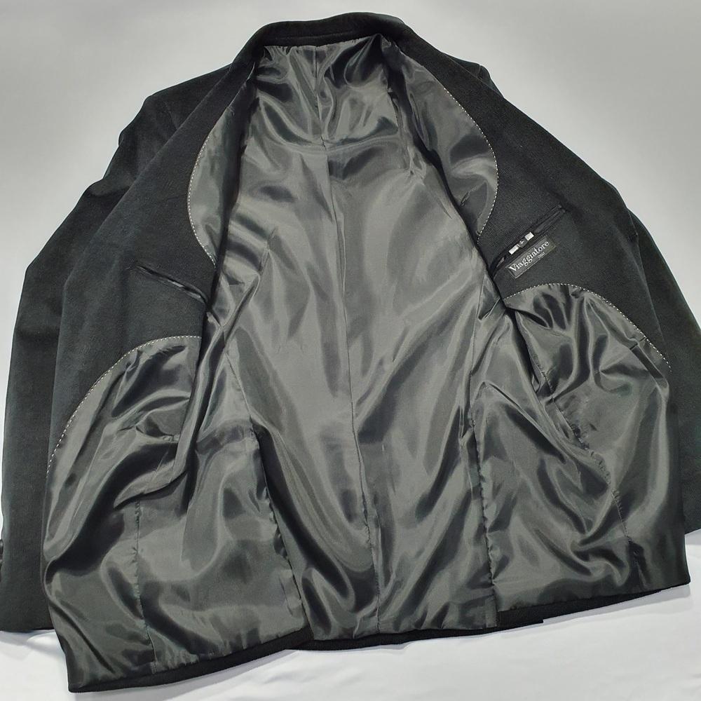 Blazer de Veludo Masculino Canelado Cotelê - Preto  - Successful´Man - Moda Masculina