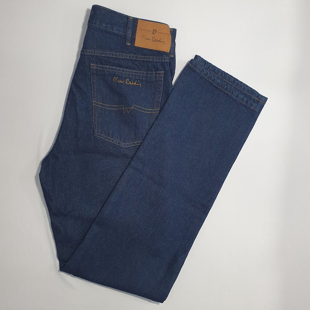 Calça Jeans Clássica Pierre Cardin  - Successful´Man - Moda Masculina