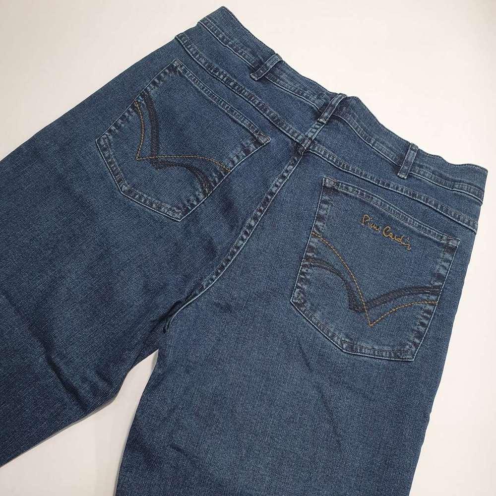 Calça Jeans Pierre Cardin Original Cintura Alta Tradicional  - Successful´Man - Moda Masculina