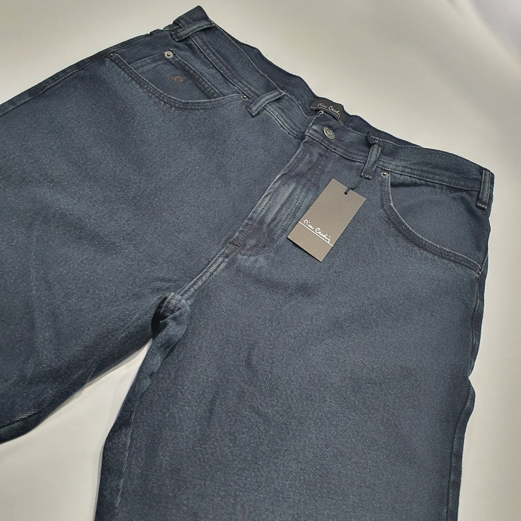 Calça Jeans Clássica Cintura Alta Tradicional Pierre Cardin 100% Algodão  - Successful´Man - Moda Masculina