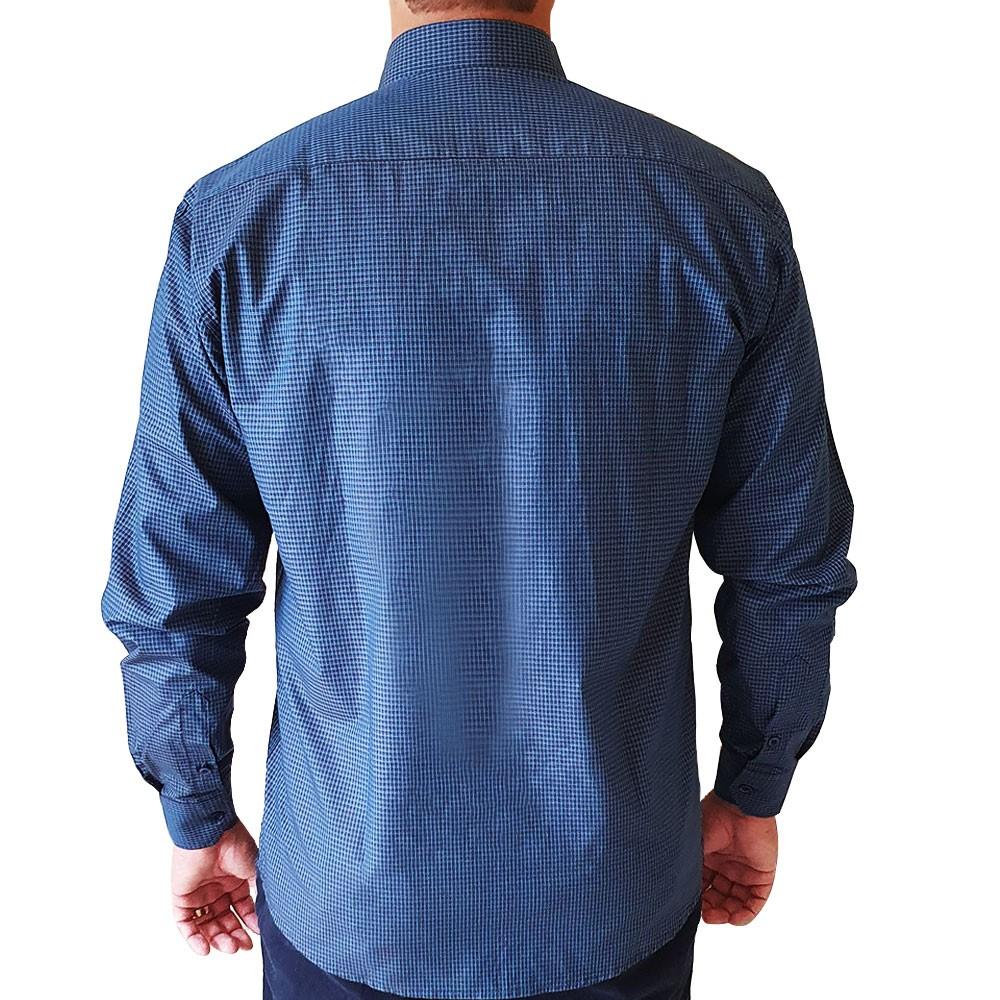Camisa casual ML maquineta texturizada