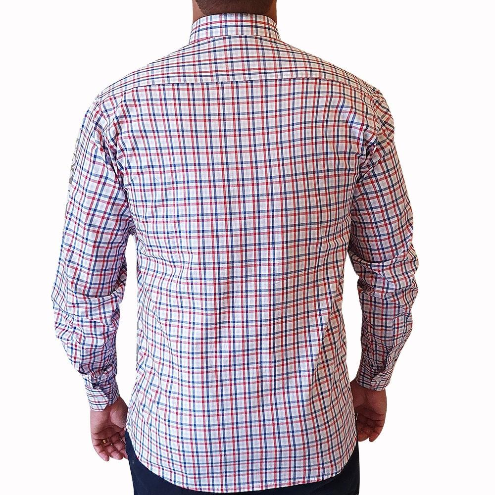 Camisa casual ML xadrez listrado